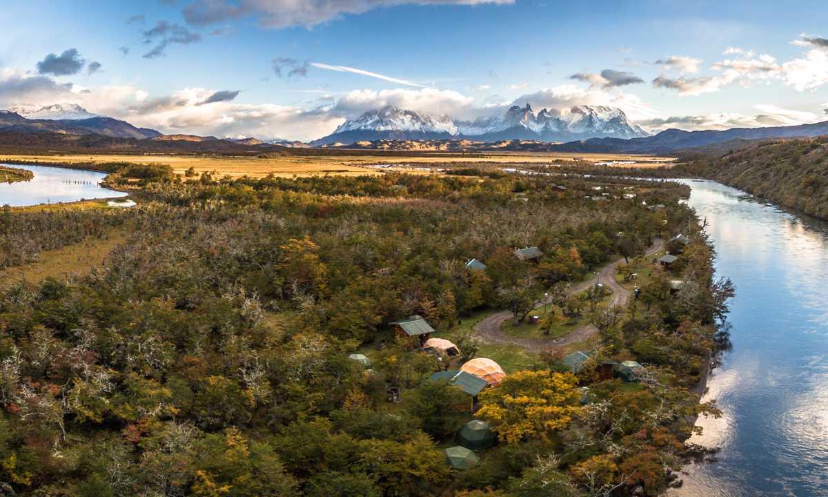 River Serrano Camp | Chile Nativo