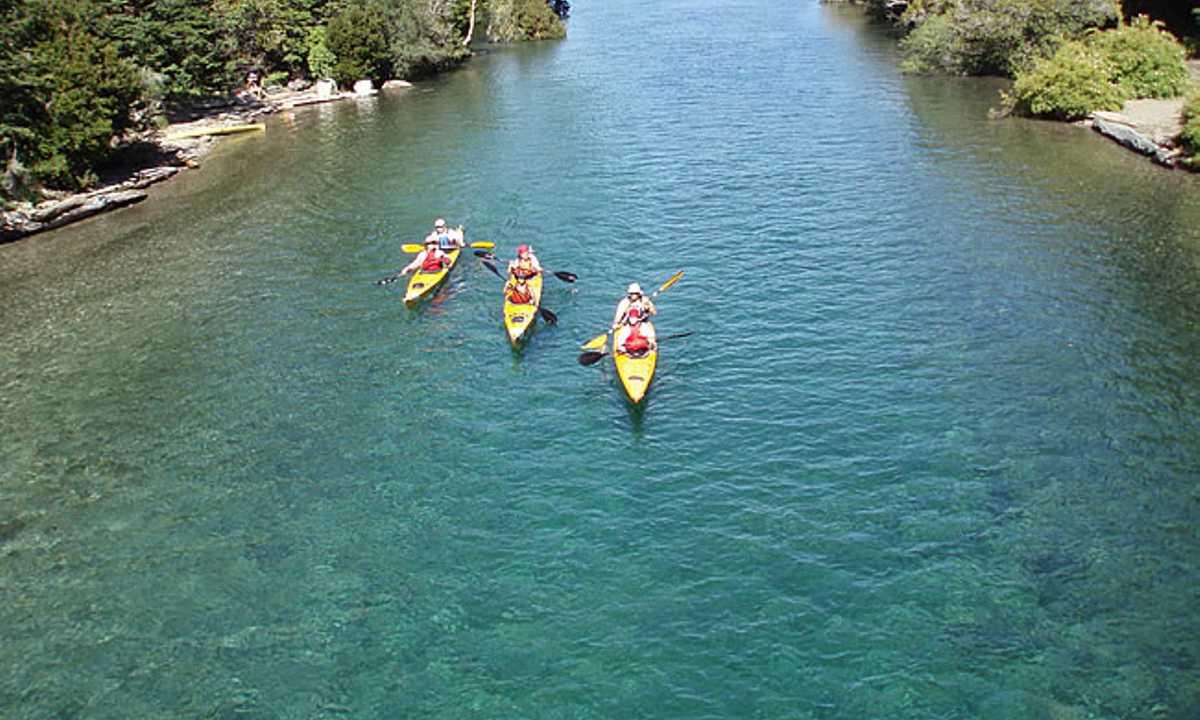 kayaking bariloche