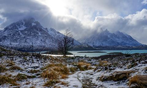Torres del Paine in Winter