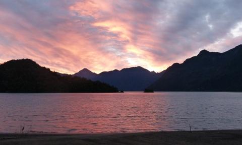 Raul Marin Balmaceda sunset