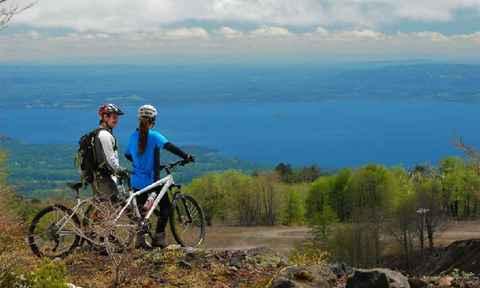 Mountain Biking in the Patagonian Lake District