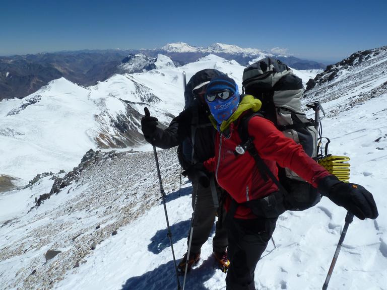 Climbing Aconcagua - Large - LE