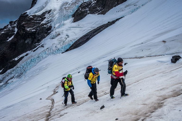 Climbing glaciers on the Patagonian Expedition Race