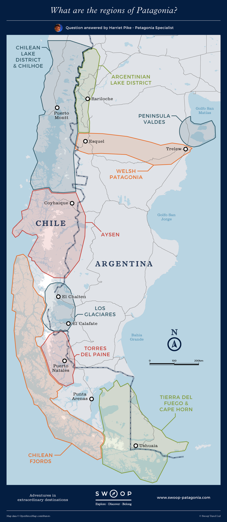 New map What-are-the-regions-of-Patagonia