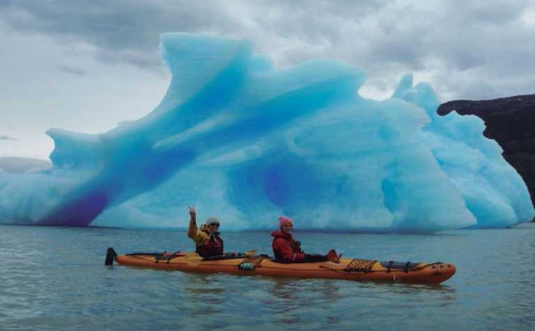 Kayaking Glacier Grey FORT p-p