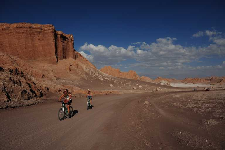 Mountain biking Atacama
