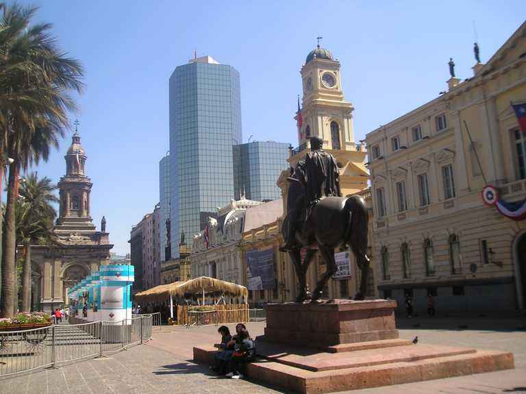 Santiago Plaza de Armas Blog