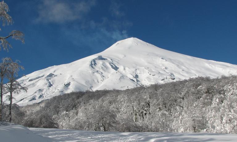 Ski Touring 4 Patagonian Volcanoes