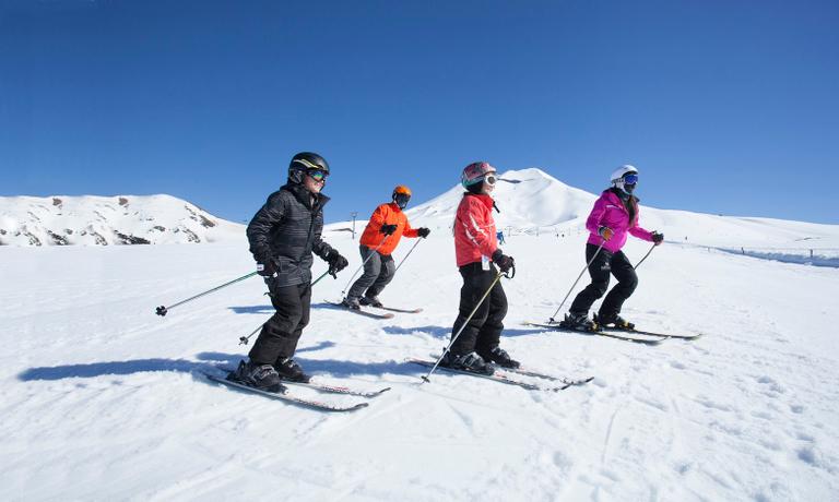 Ski Adventure in Corralco