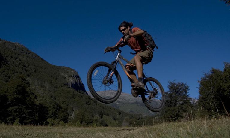 Mountain Biking in the Rio Puelo Valley