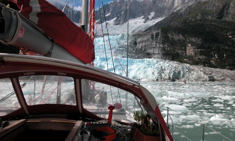 Fjords and Glaciers of Cordillera Darwin