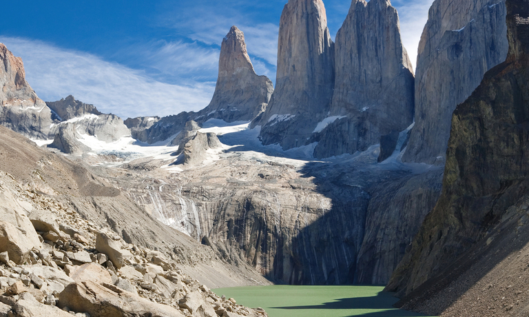 Patagonian Peaks and Plains