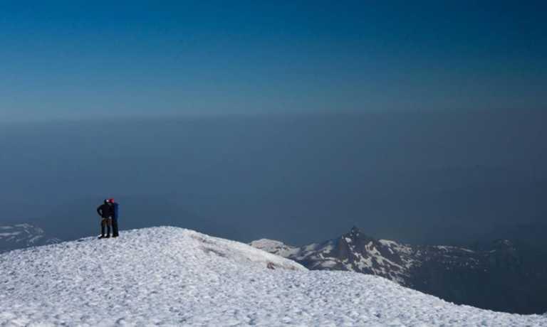 Climb Lanin Volcano