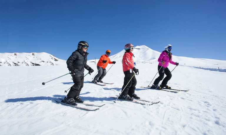 Ski Adventure in Corralco