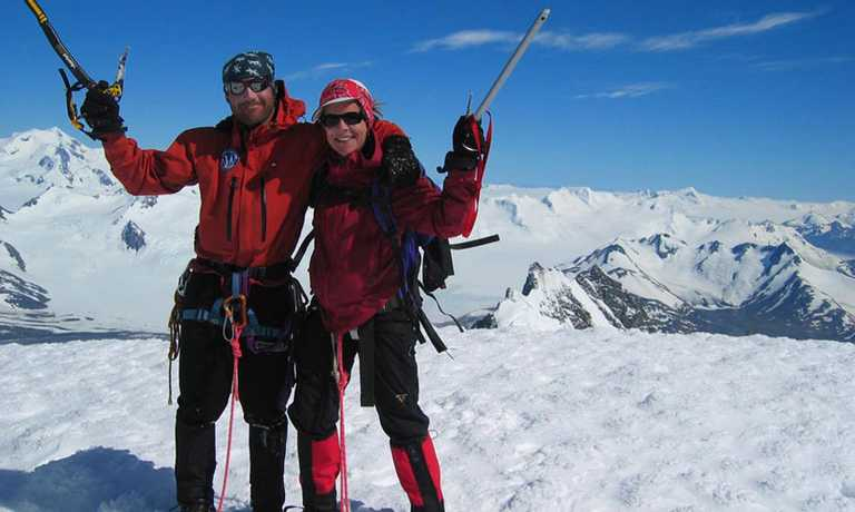Paso Marconi & Gorra Blanca Ascent