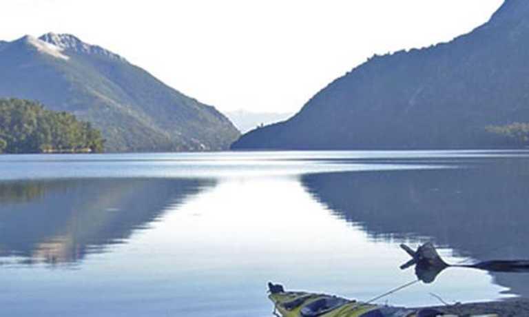 Kayaking on Lago Nahuel Huapi
