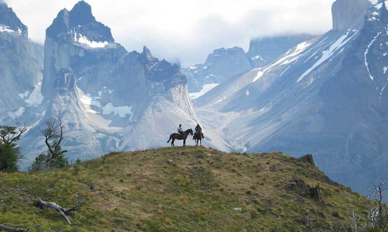 4-day Estancia ride, taster ride in Torres del Paine