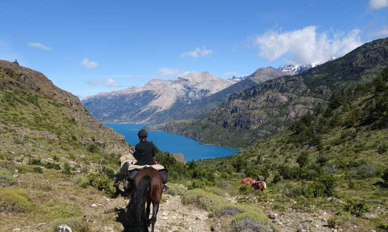 Horse Riding the Torres del Avellano Trail