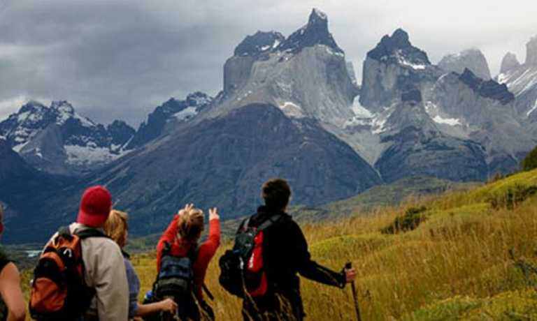 Hiking in Torres del Paine