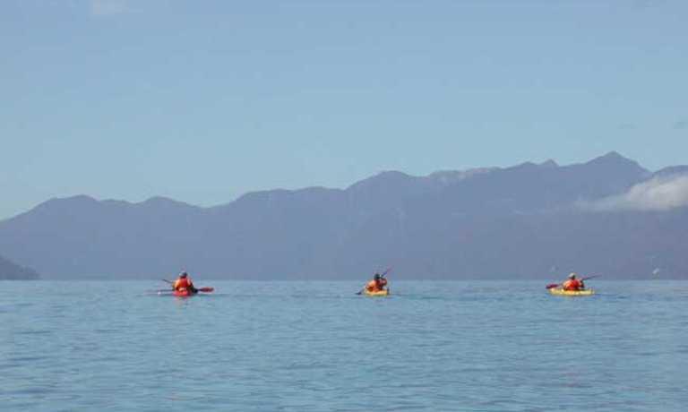 Kayak the Northern Patagonia Fiords